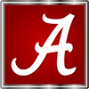 The University of Alabama script logo